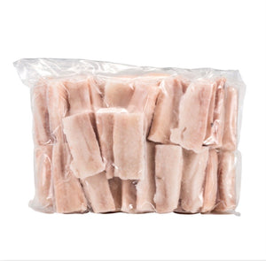 Haddock loins, frozen, 5 oz portions