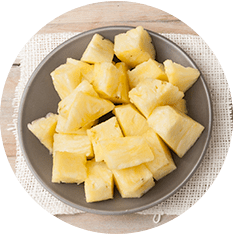 Pineapple Chunk - 5kg (2 bags, 2.5kg each)