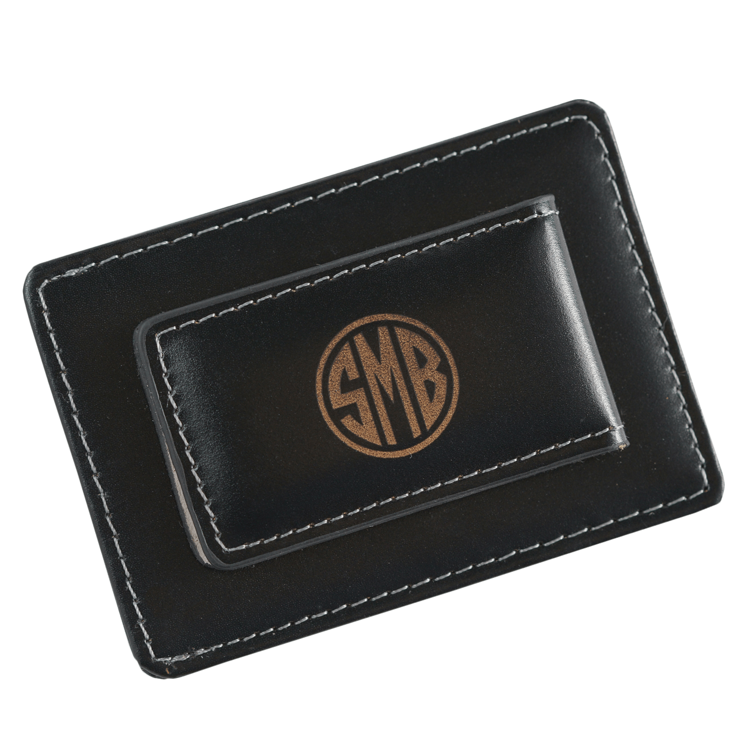 personalized leather money clipcard holder - Money Clip And Card Holder