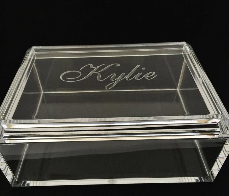 Personalized Acrylic Jewerly Box