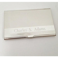 Engraved Card Case