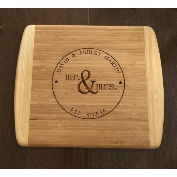 Personalized Cutting Board Custom Engraved