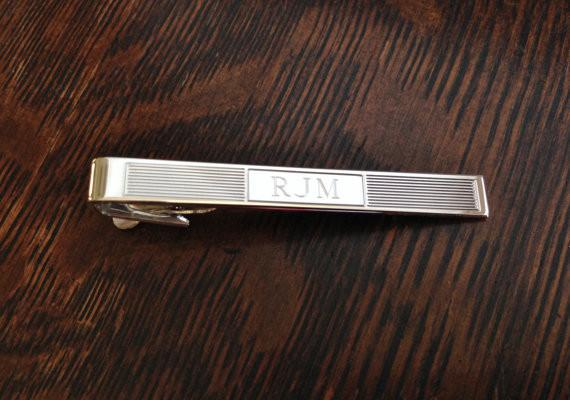Personalized Tie Bar Engraved