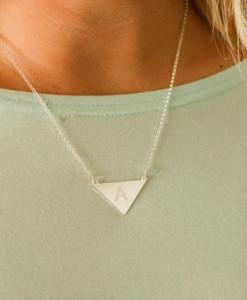 necklace sil d its kith personal silver initial collection cu s it sterling products kin