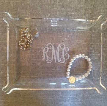 Personalized Acrylic Jewerly Tray