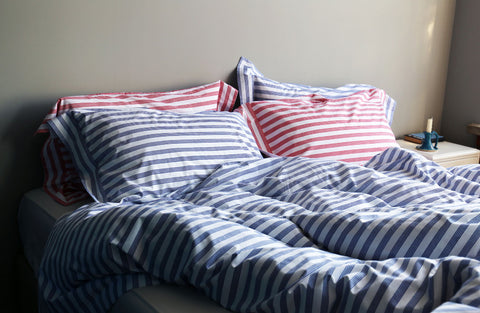 Blue Red Stripe Collection