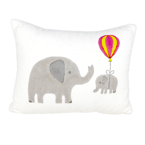 Elephant printed cushion