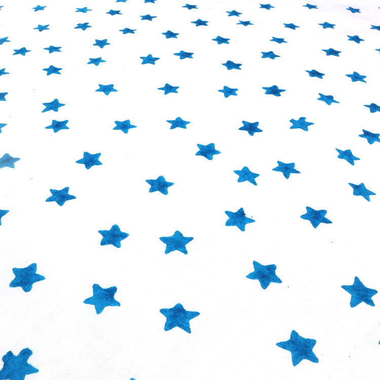 Blue star single duvet cover