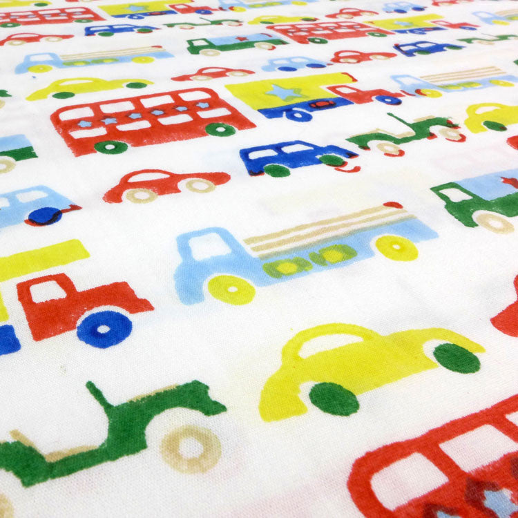 Car And Buses Toddler Cot Bed Duvet Set And Boys Cot