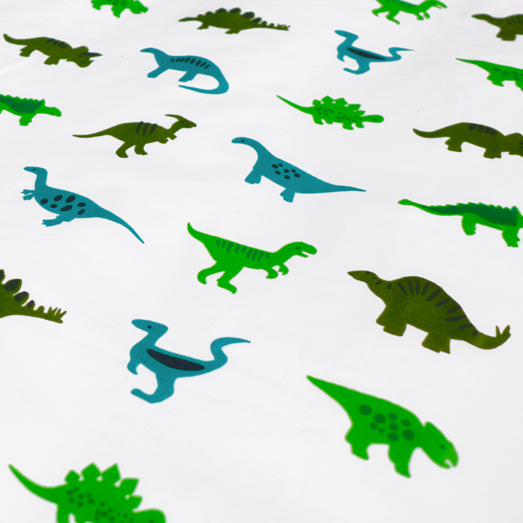 Dinosaurs single bedding set