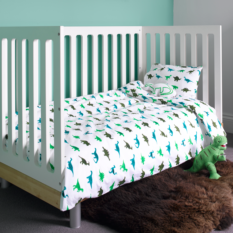 Dinosaurs Toddler Cot Bed Duvet Set and Cot Bedding from ...