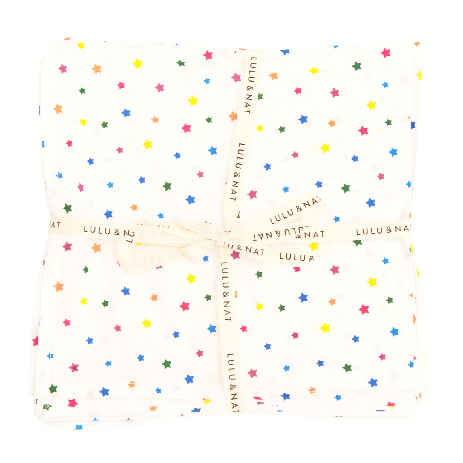 Multi star napkins - set of 6