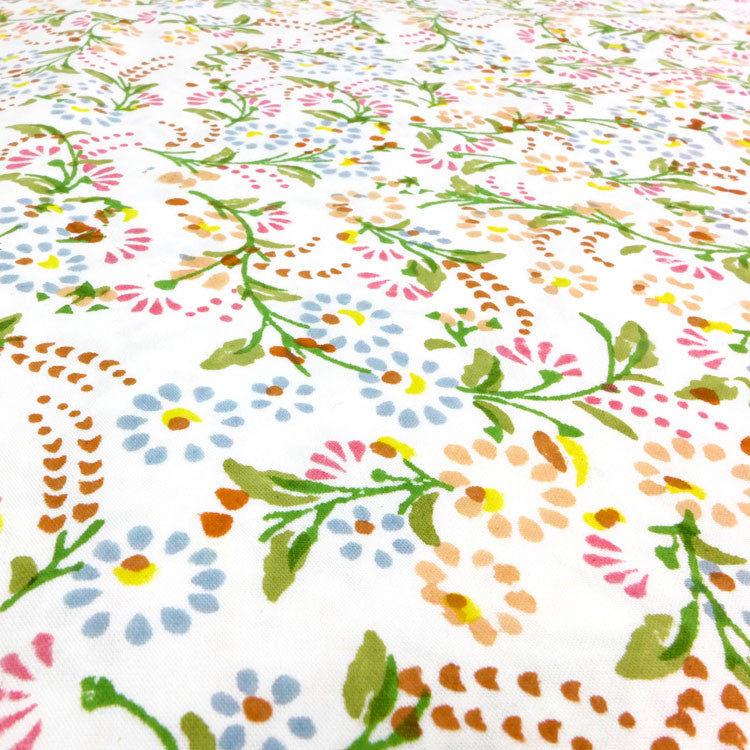 Mini floral cotton fabric