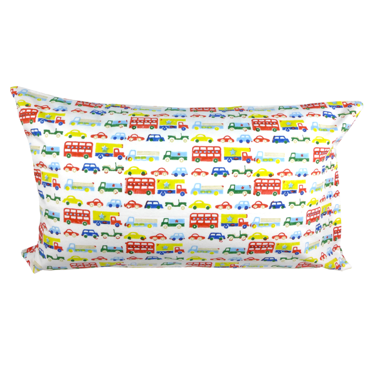 Cars & buses single pillowcase