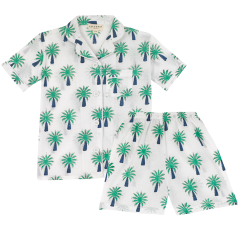 Palm Tree short pyjamas