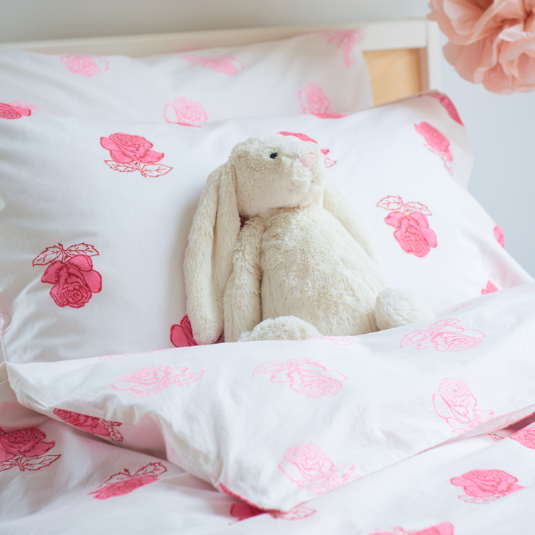 Rose single duvet