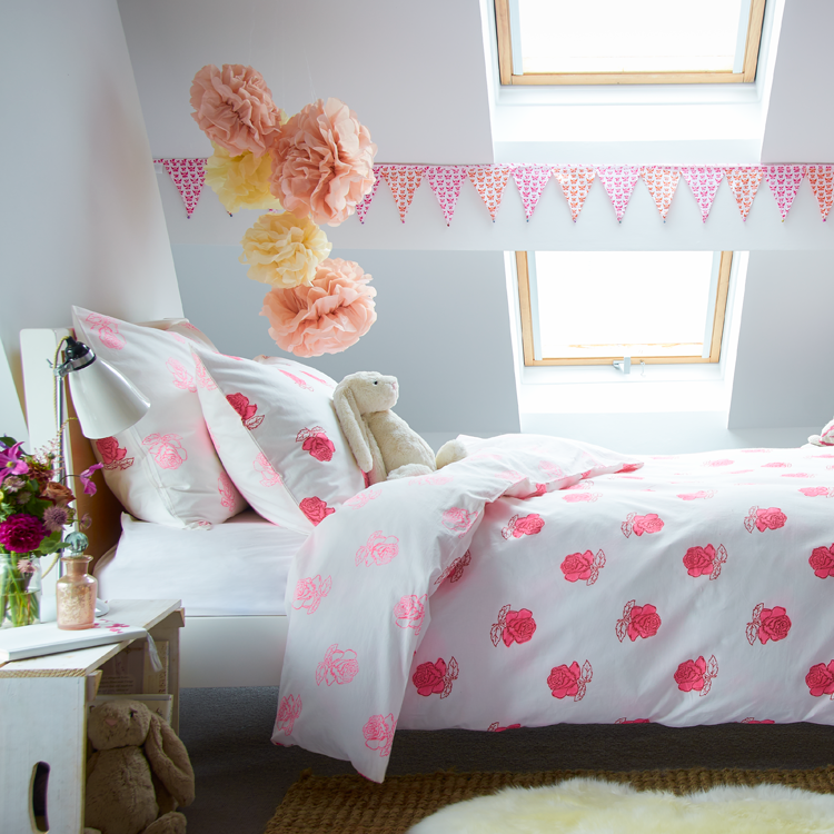 Rose bedding set
