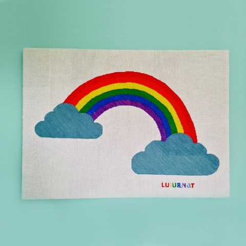 Rainbow wallhanging