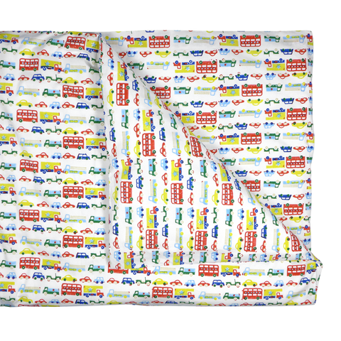 Car & buses single duvet cover