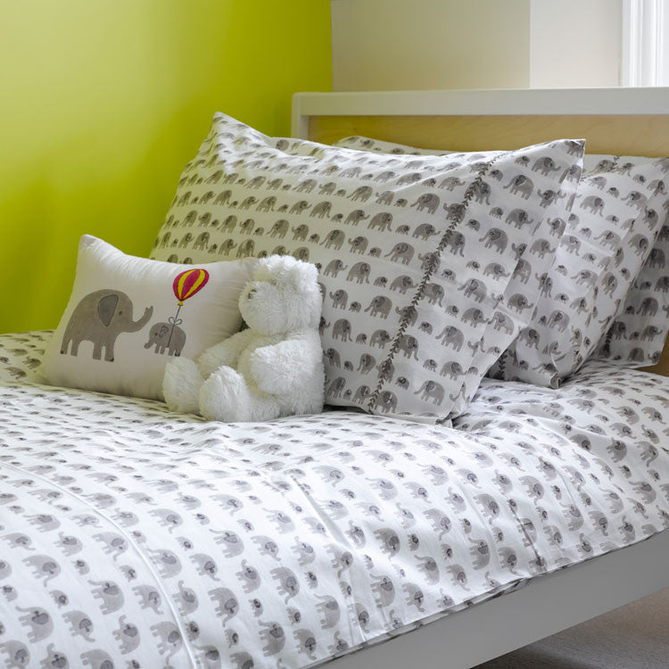 Elephant single bedding set
