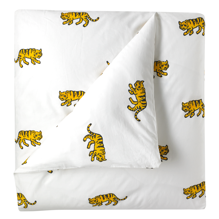 Tiger single duvet cover