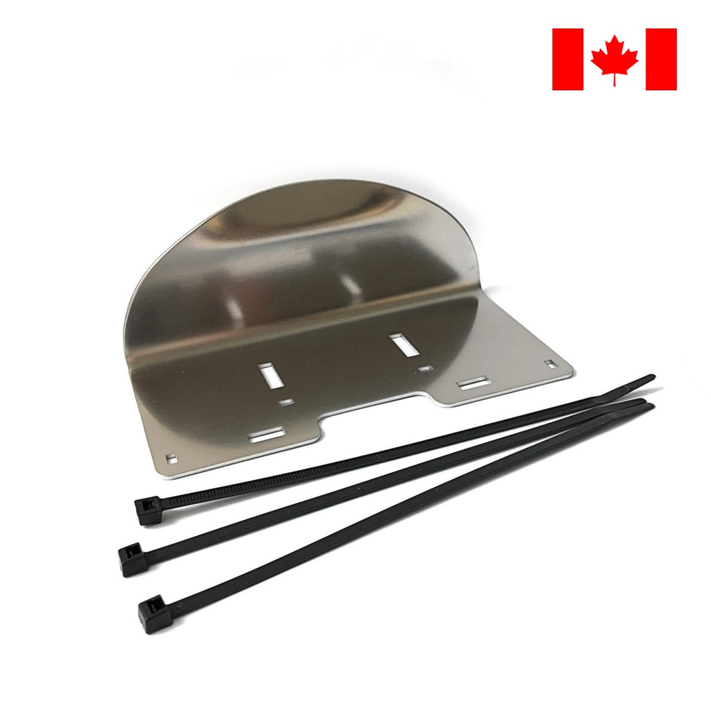 ArmPull© Forearm Sanitary Door Opener with Nylon Cable Ties. Made in Canada. DoorOpener Canada.