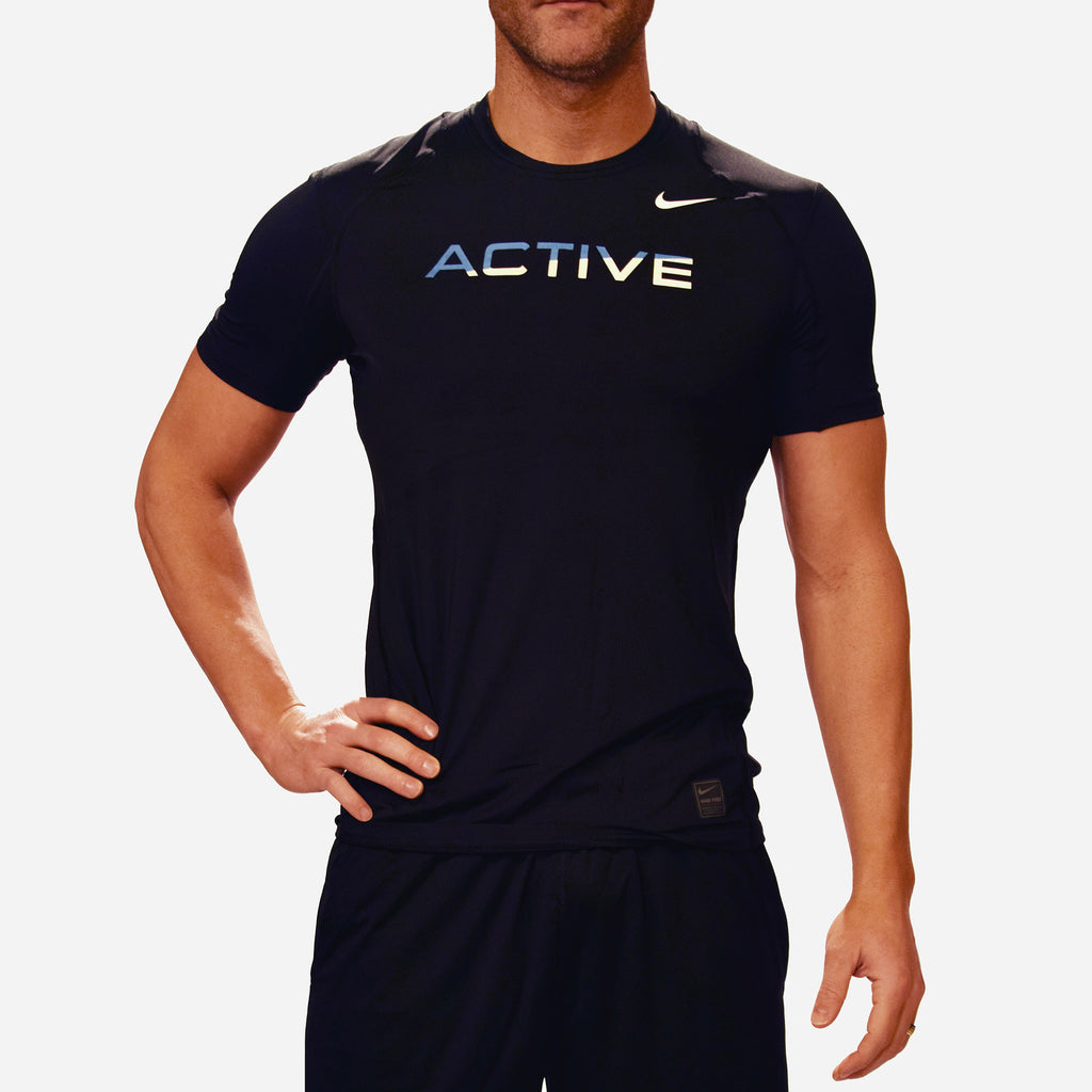 Nike Pro Cool Fitted Short Sleeve T Shirts