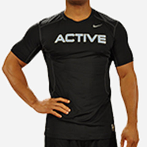 MOSSA Group Active Men's Nike Pro Combat Fitted Short Sleeve