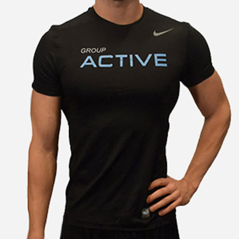 MOSSA Group Active Men's Nike HyperCool Shortsleeve