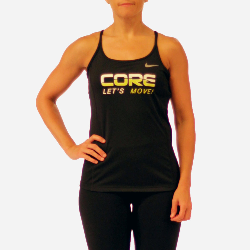 MOSSA Group Core Women's Lets Move Nike Miler Dry Tank