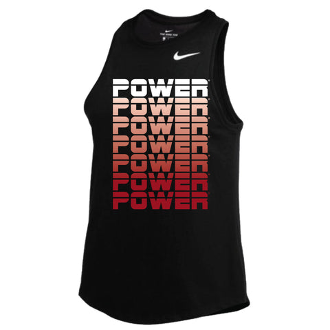 MOSSA Group Power Women's POWER Gradient Nike Dry High Neck Tank
