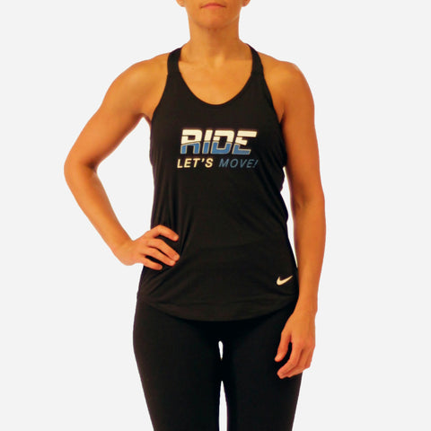 MOSSA Group Ride Women's Let's Move Nike Breathe Tank