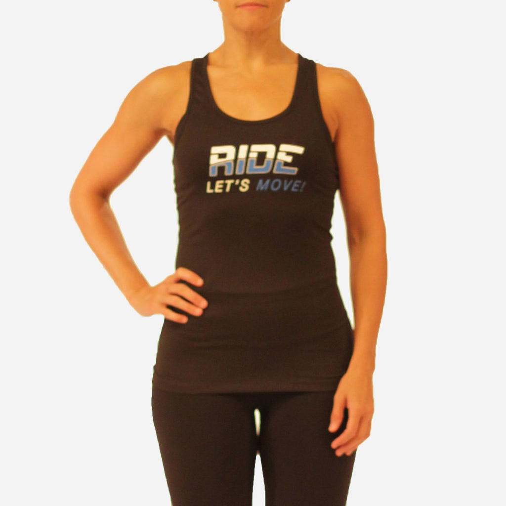 MOSSA Group Ride Women's Let's Move Nike Dry Tank