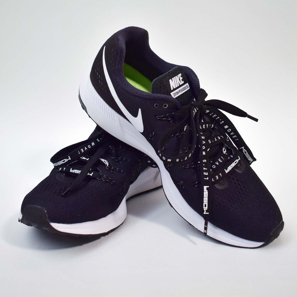 MOSSA Let's Move Men's Shoelaces