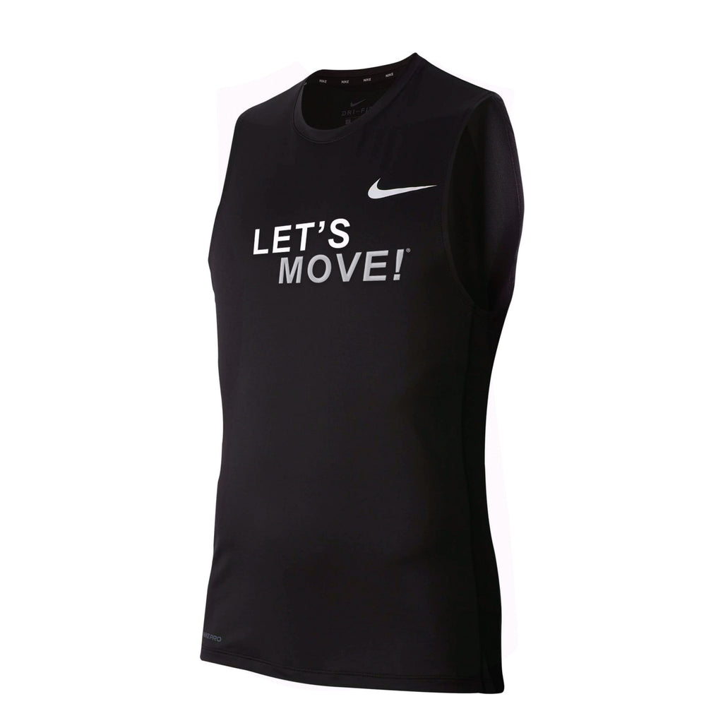 MOSSA Men's LET'S MOVE Nike Pro Fitted Sleeveless