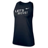 MOSSA Women's LET'S MOVE! STK Outline Nike Legend Tank