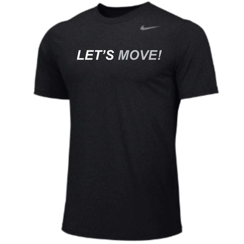 MOSSA Men's LET'S MOVE Nike Team Short Sleeve Legend Crew