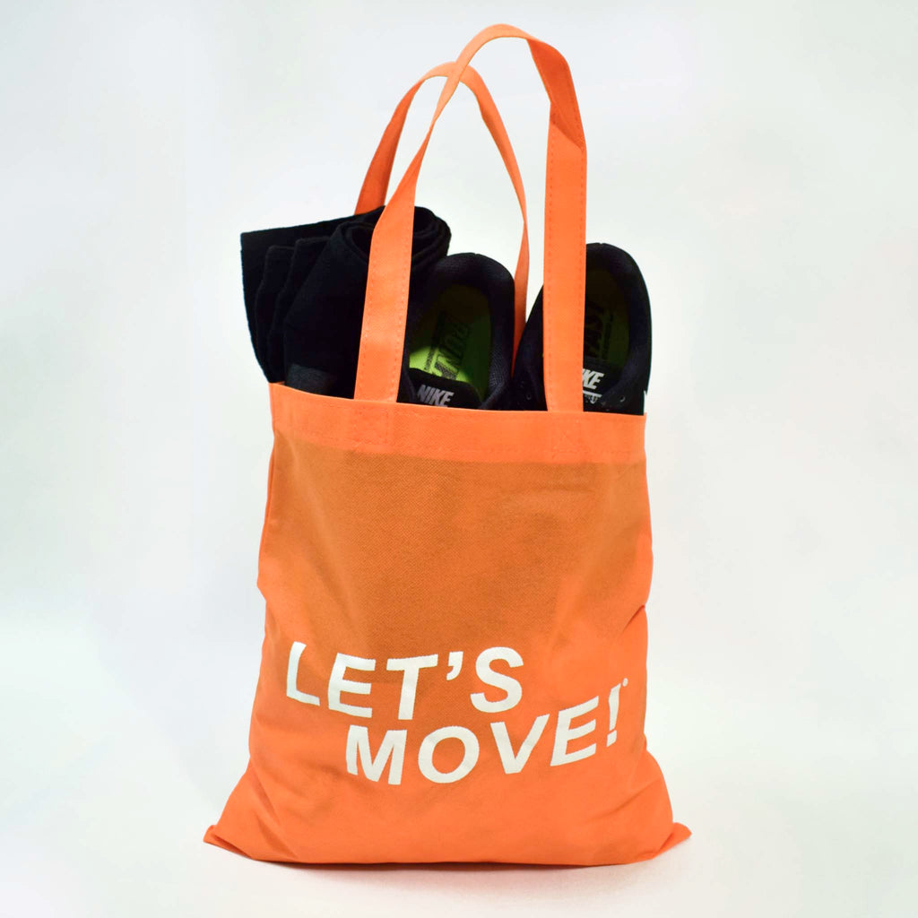 MOSSA Let's Move Reusable Tote Bag