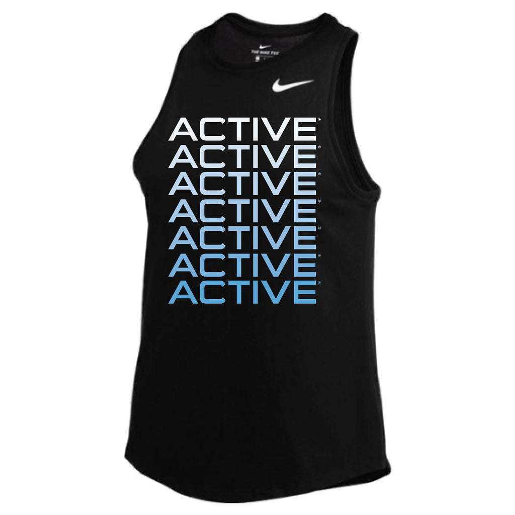 MOSSA Group Active Women's ACTIVE Gradient Nike Dry High Neck Tank