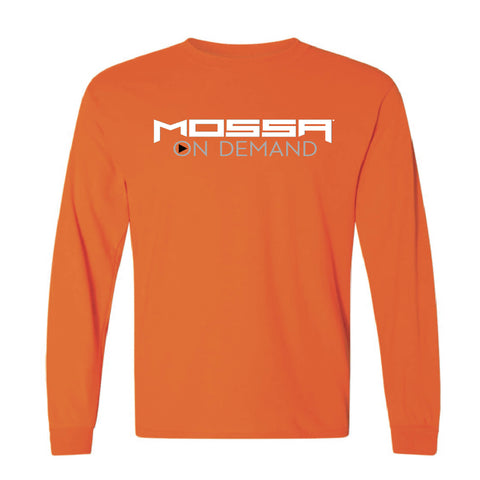 MOSSA On Demand Unisex Gildan G840 50/50 Long Sleeve T-Shirt