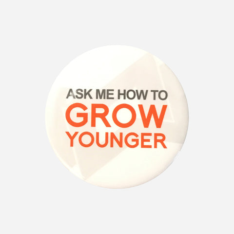 MOSSA Grow Younger button