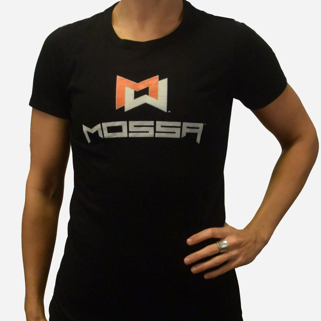 MOSSA Women's MOSSA Black T-Shirt