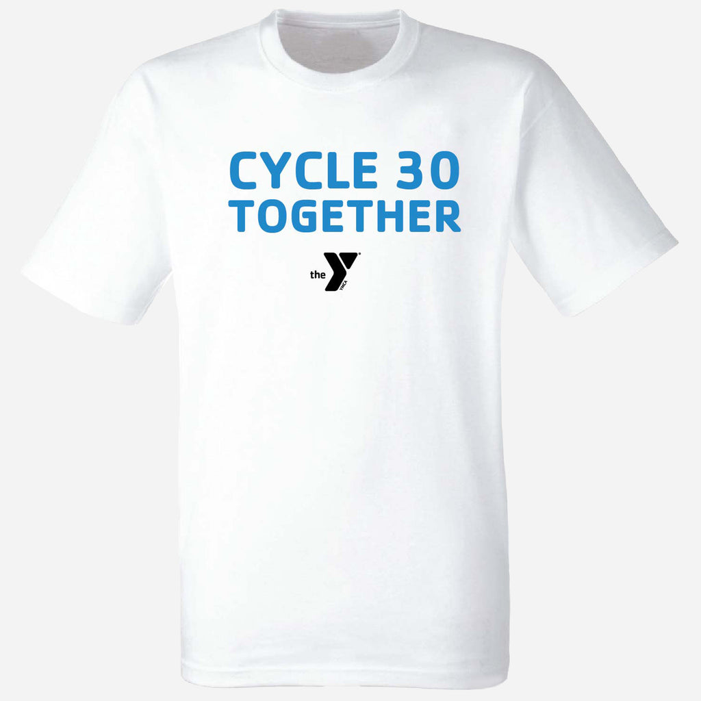 Y Cycle 30 Together Unisex Full Logo T-Shirt