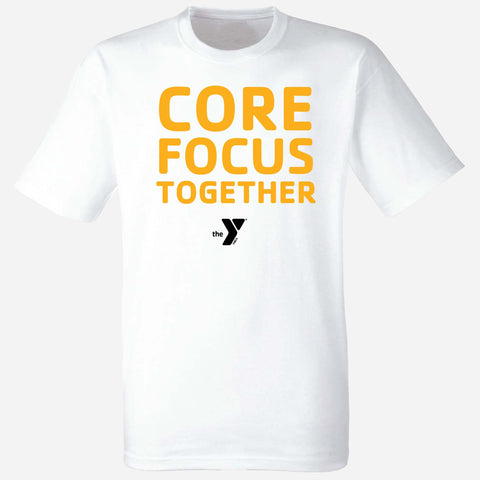 Y Core Focus Together Unisex Full Logo T-Shirt