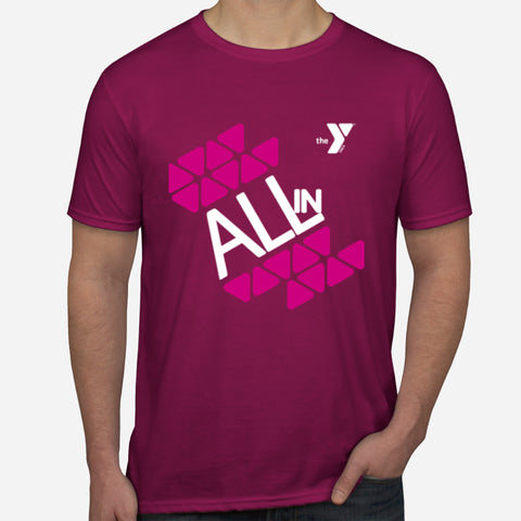 Y ALL IN Challenge Unisex T-Shirt