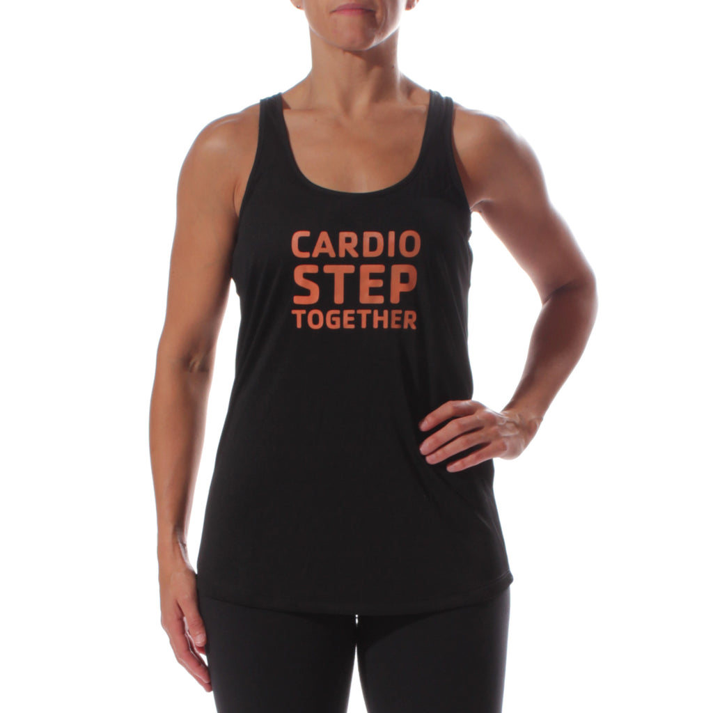 Y Cardio Step Together Women's Sportek Program Name Training Tank