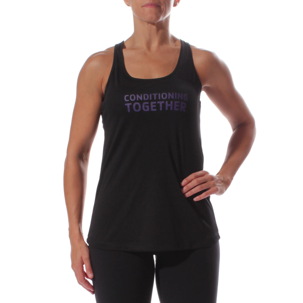 Y Conditioning Together Women's Sportek Program Name Training Tank
