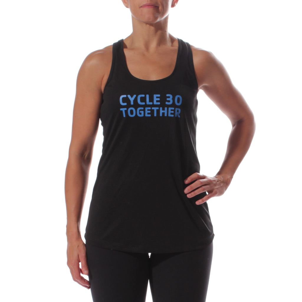 Y Cycle 30 Together Women's Sportek Program Name Training Tank