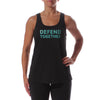 Y Defend Together Women's Sportek Program Name Training Tank