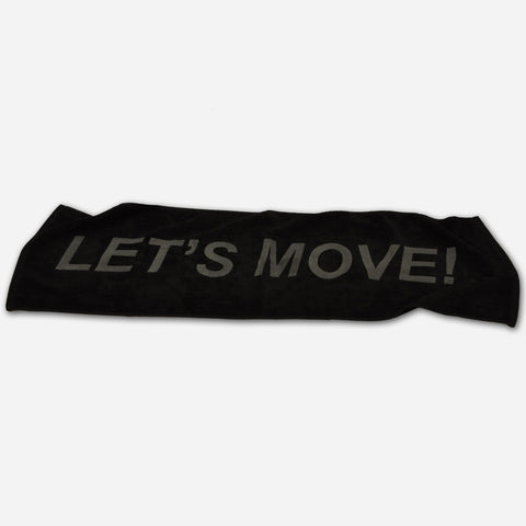 MOSSA Let's Move Towel
